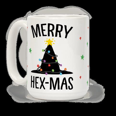 Merry Hex-Mas Coffee Mug