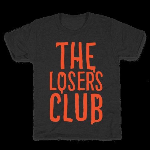 The Losers Club Parody White Print Kids T-Shirt