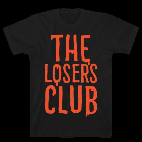 The Losers Club Parody White Print Mens T-Shirt