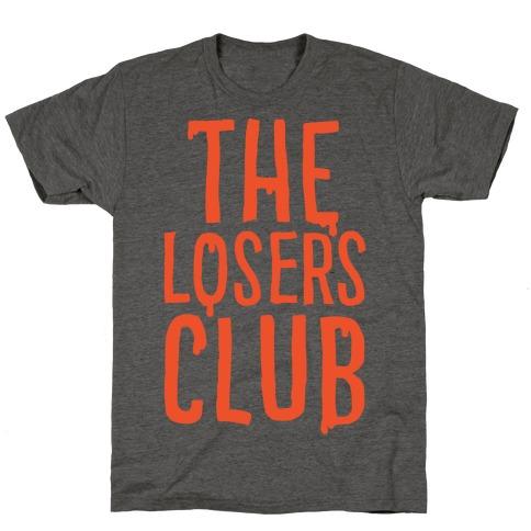 The Losers Club Parody White Print T-Shirt