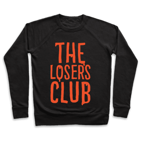 The Losers Club Parody White Print Pullover