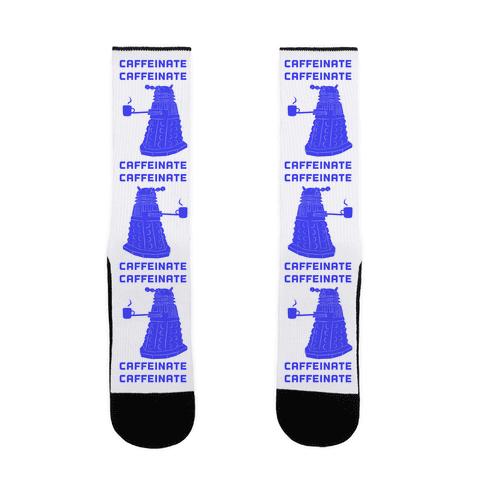 Caffeinate Caffeinate Sock