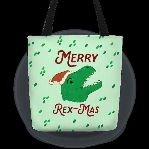 Merry Rex-mas Tote