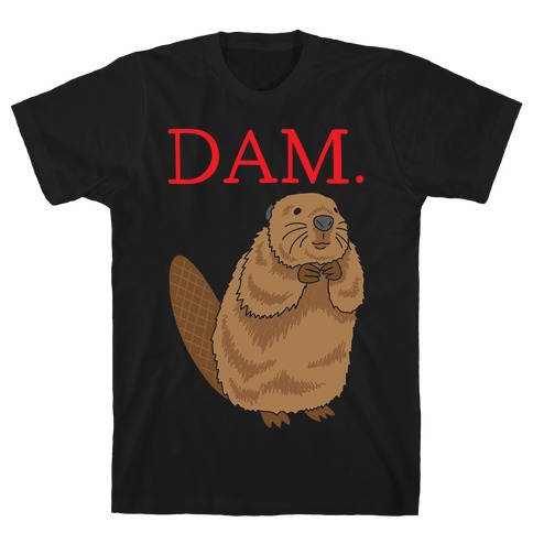 DAM. Parody Mens T-Shirt