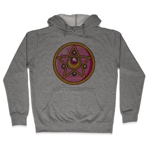 Sailor Moon Crystal Star Brooch Hooded Sweatshirt