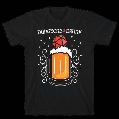 Dungeons & Drunk Mens/Unisex T-Shirt