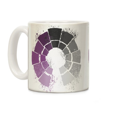 Ace Pride Color Wheel Coffee Mug