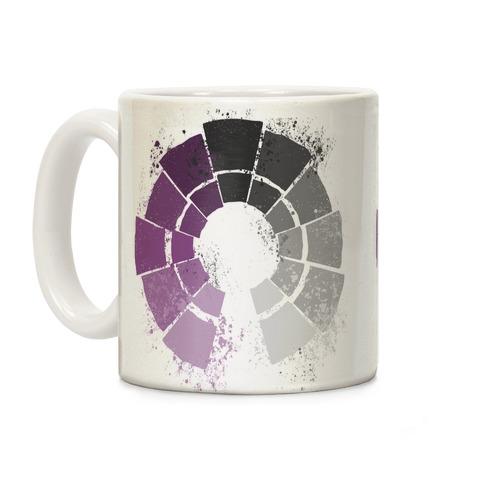 Ace Pride Color Wheel Coffee Mug
