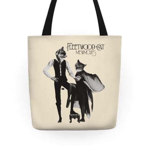 Fleetwood Cat Mewmours Mashup Tote