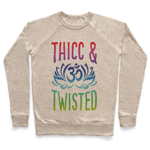 Thicc And Twisted Yoga Pullover