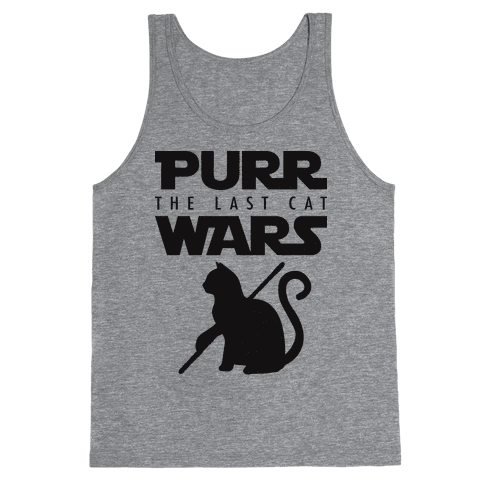Purr Wars: The Last Cat Tank Top