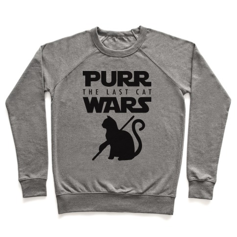 Purr Wars: The Last Cat Pullover