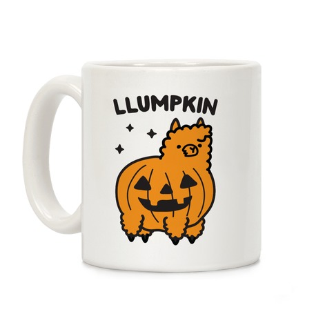 Llumpkin Llama Pumpkin Coffee Mug