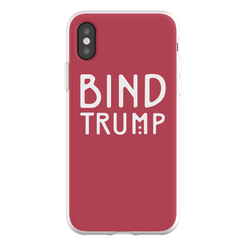 Bind Trump Phone Flexi-Case
