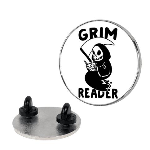 Grim Reader pin