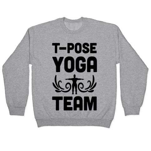 Yoga T-Pose Team Pullover