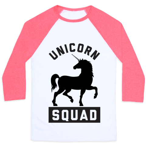 Unicorn Squad Baseball Tee