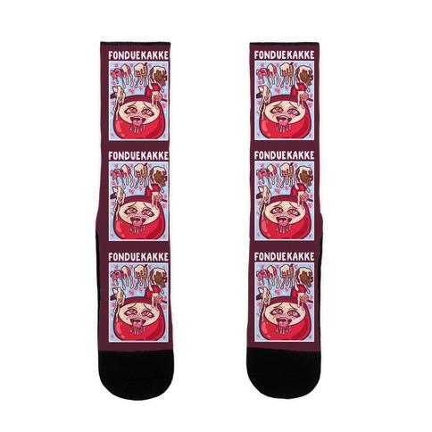 Fonduekakke Sock