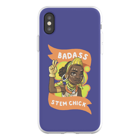 Badass STEM Chick Phone Flexi-Case
