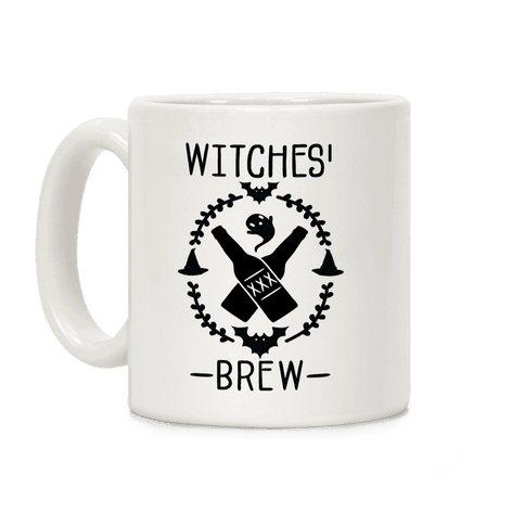 Witches' Brew Beer Coffee Mug