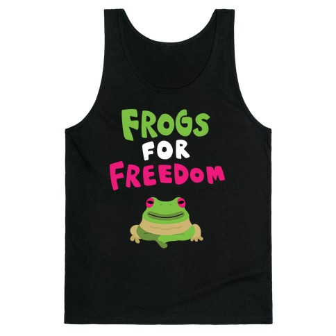Frogs for Freedom Tank Top