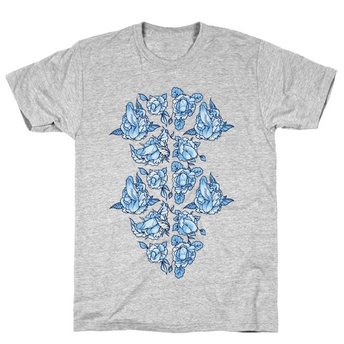 Floral Penis Collage T-Shirt
