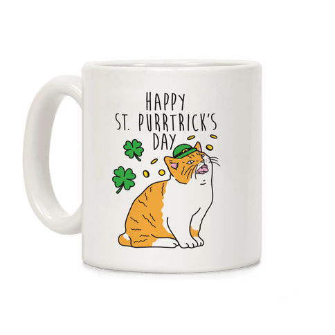Happy St. Purrtrick's Day Coffee Mug