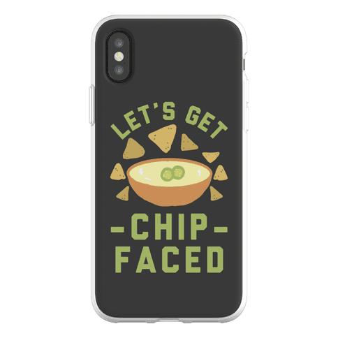 Let's Get Chip Faced Phone Flexi-Case