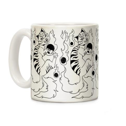 Ink Nekomata Coffee Mug