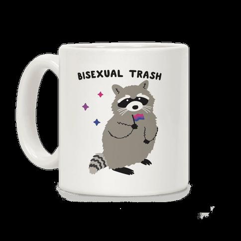Bisexual Trash Raccoon Coffee Mug