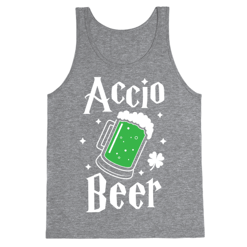 Accio Beer St. Patrick's Day Tank Top