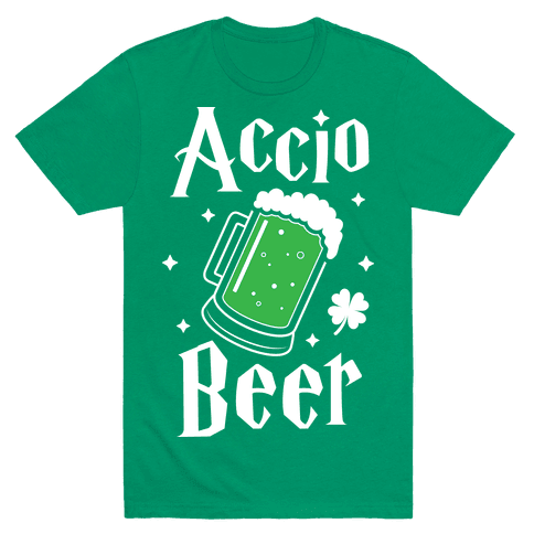 Accio Beer St. Patrick's Day Mens T-Shirt