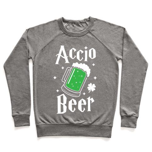 Accio Beer St. Patrick's Day Pullover