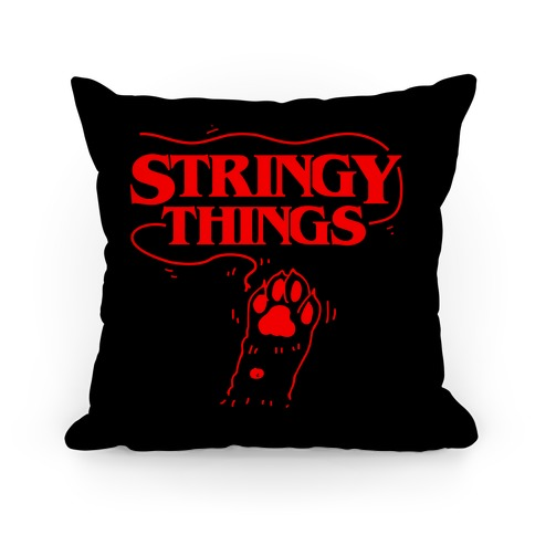 Stringy Things Pillow