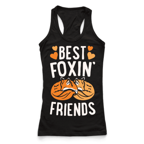Best Foxin' Friends White Print