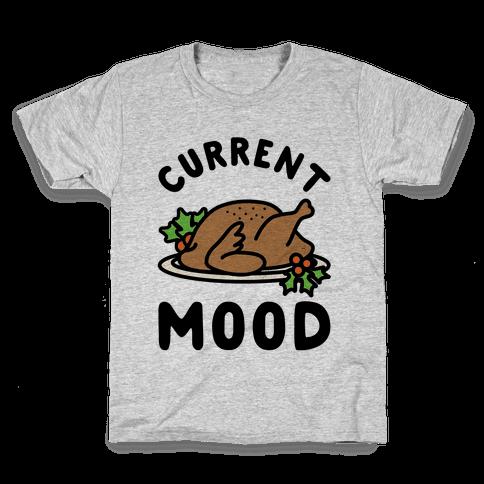 Current Mood Turkey Kids T-Shirt