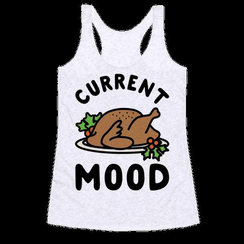 Current Mood Turkey Racerback Tank Top