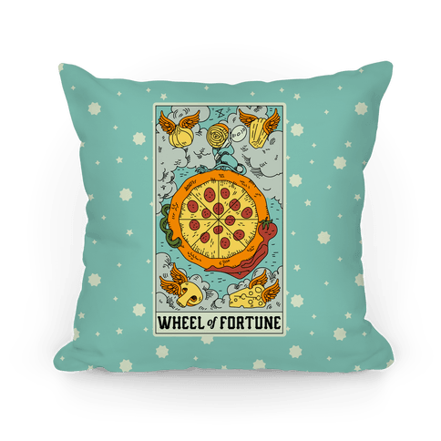 Wheel Of Fortune Pizza Pillow