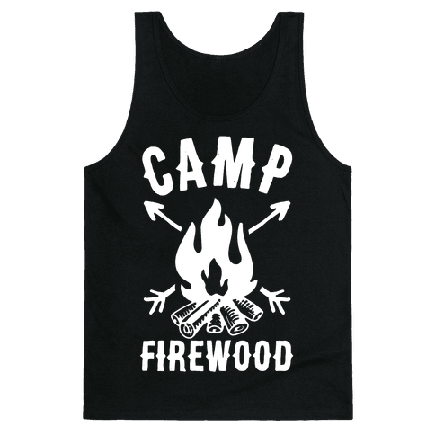 Camp Firewood Tank Top