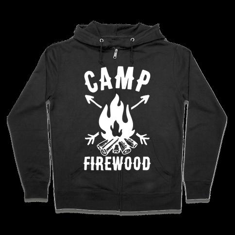 Camp Firewood Zip Hoodie