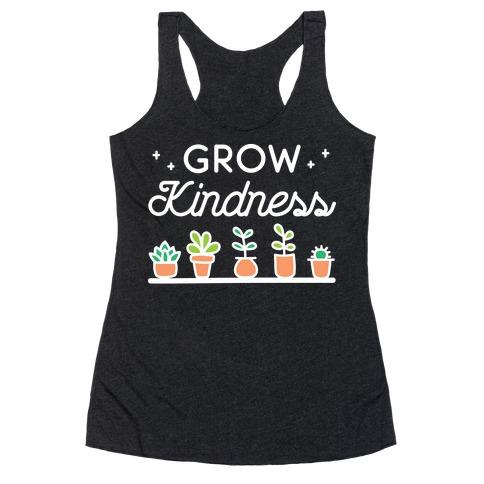 Grow Kindness Racerback Tank Top