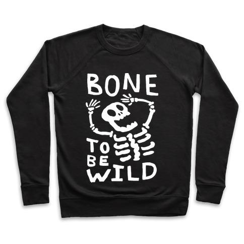 Bone To Be Wild Skeleton Pullover