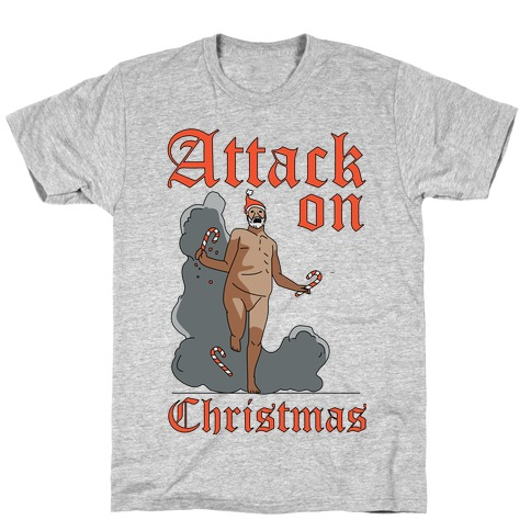 Attack On Christmas T-Shirt