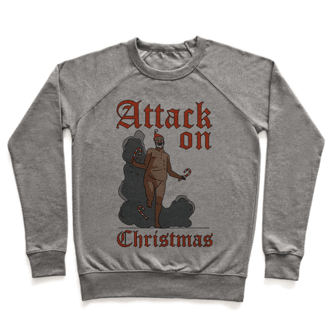 Attack On Christmas Pullover