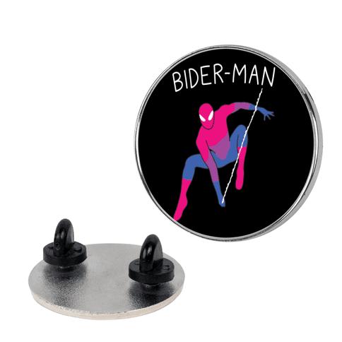 Bider-Man Parody pin
