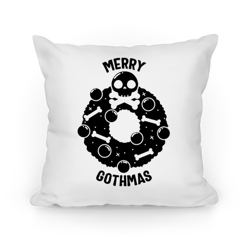 Merry Gothmas Pillow