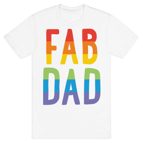 Fab Dad Mens T-Shirt