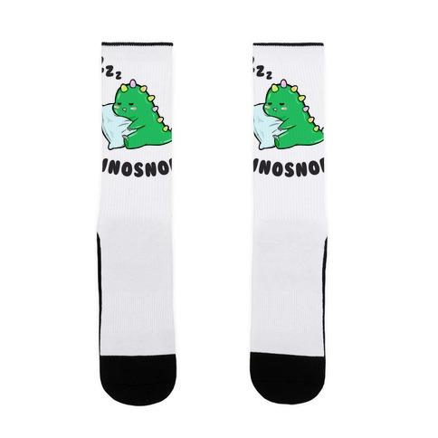 Dinosnore Sock