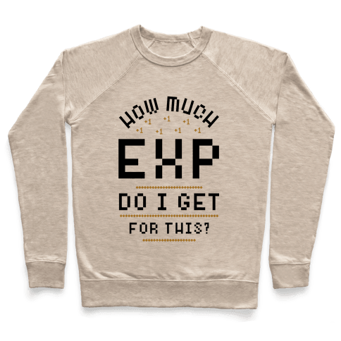 How Much EXP Do I Get For This Pullover