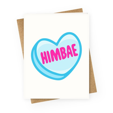 Himbae Greeting Card